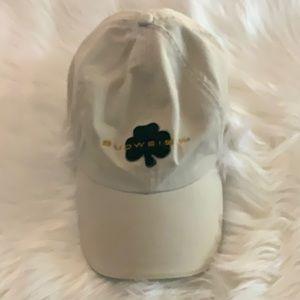 💚 BUDWEISER HAT BUDWEISER CAP LIKE NEW